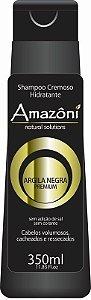 SHAMPOO AMAZONI HIDRATANTE ARGILA NEGRA 350 ML