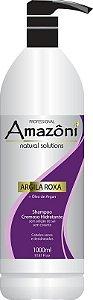 SHAMPOO AMAZONI HIDRATANTE ARGILA ROXA 1 LITRO
