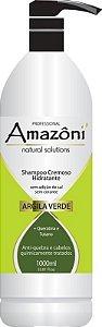 SHAMPO AMAZONI HIDRATANTE ARGILA VERDE 1 LITRO