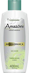 CONDICIONADOR AMAZONI ARGILA BRANCA 400 ML