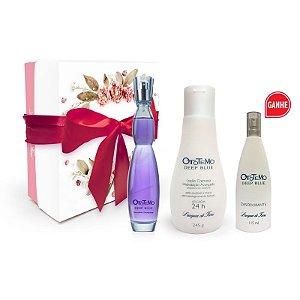 Kit promocional Ototemo Deep Blue (Grátis desodorante spray)