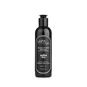 Shampoo Menthol Barber Shop Light Hair 240ml