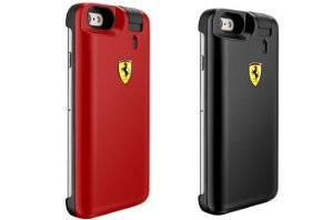 Ferrari Scuderia Ferrari Black Iphone 6 ou 6s Cover Kit Perfume 25ml + Refil 25ml