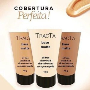 Base Tracta Alta Cobertura Matte Oil Free
