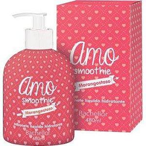Sabonete liquido Amo Smoothie Morangostoso - Bachellor cosmeticos