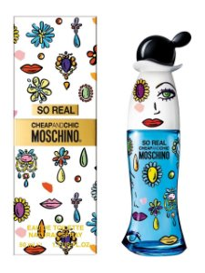 So Real Cheap & Chic Eau de Toilette Feminino - Moschino