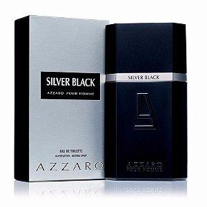 Silver Black Masculino Eau de Toilette Azzaro