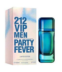 212 Vip Party Fever Masculino Eau de Toilette Edição Limitada Carolina Herrera