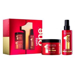 Kit Tratamento Revlon Super 10R e Uniq One Hair
