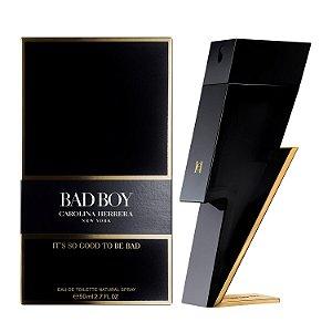 Bad Boy Carolina Herrera Eau de Toilette - Perfume Masculino