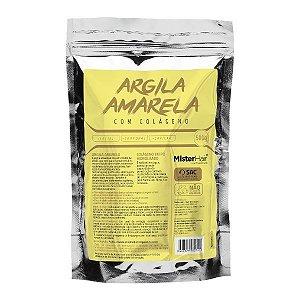 Argila Amarela com Colágeno - Mister Hair - 500g