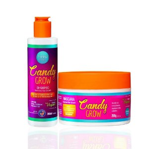 Kit Candy Grow - (Shampoo + Máscara) - Phinna