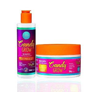 Kit Candy Grow - (Shampoo + Máscara) - Phinna