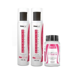 Kit Growthing Hair (Shampoo + Balm) + Complex Vitamin