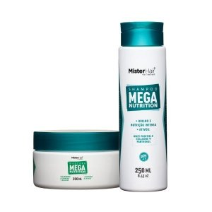 KIT Mega Nutrition (Shampoo e Máscara) - Mister Hair