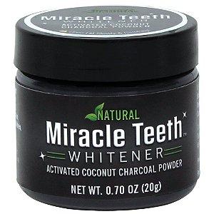 Clareador Dental Natural Miracle Teeth Whitener 20g