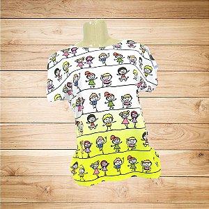 T-Shirt - Vestido, Adulto - Infantil - Feminino - Tal Mãe Tal Filha Cód.  4667