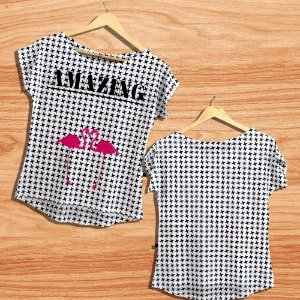 T-Shirt - Vestido, Adulto - Infantil - Feminino - Tal Mãe Tal Filha Cód.  3126