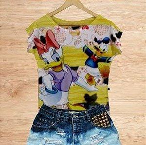 T-Shirt - Vestido, Adulto - Infantil - Feminino - Tal Mãe Tal Filha Cód.  3603