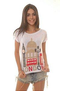 T-Shirt modelo Babylook Cód.  2322