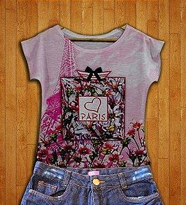 T-Shirt modelo Babylook Cód.  3218