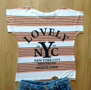 T-Shirt modelo Babylook Cód.  NYC
