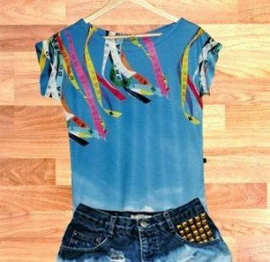 T-Shirt modelo Babylook Cód.  3729