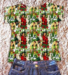T-Shirt - Vestido, Adulto - Infantil - Feminino - Tal Mãe Tal Filha Cód.  2385