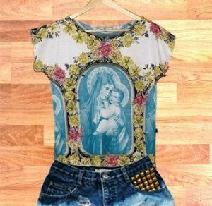 T-Shirt - Vestido, Adulto - Infantil - Feminino - Tal Mãe Tal Filha Cód.  3744