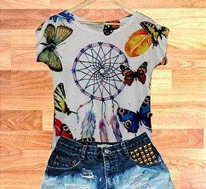 T-Shirt - Vestido, Adulto - Infantil - Feminino - Tal Mãe Tal Filha Cód.  3699