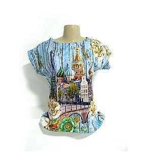 T-Shirt modelo Babylook Cód.  4888