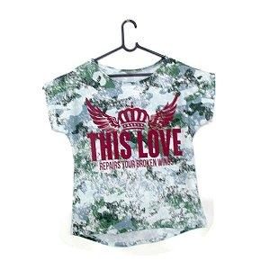 T-Shirt - Vestido, Adulto - Infantil - Feminino - Tal Mãe Tal Filha Cód. 5050
