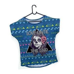 T-Shirt - Vestido, Adulto - Infantil - Feminino - Tal Mãe Tal Filha Cód. 5065
