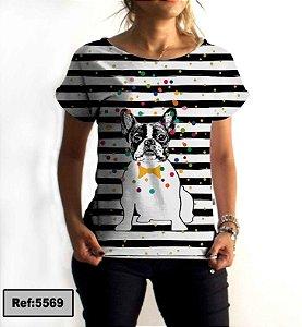 T-Shirt - Vestido, Adulto - Infantil - Feminino - Tal Mãe Tal Filha Cód. 5569