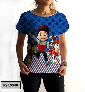 T-Shirt - Vestido, Adulto - Infantil - Feminino - Tal Mãe Tal Filha Cód 5546