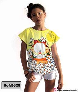 T-Shirt modelo Babylook Cód. 5629
