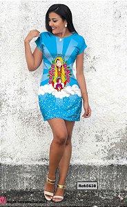 T-Shirt - Vestido, Adulto - Infantil - Feminino - Tal Mãe Tal Filha Cód. 5638