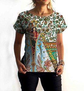 T-Shirt - Vestido, Adulto - Infantil - Feminino - Tal Mãe Tal Filha Cód. 6018