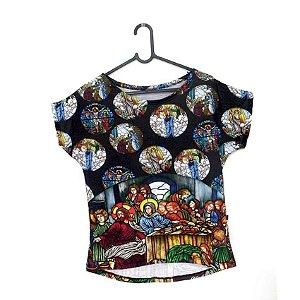T-Shirt - Vestido, Adulto - Infantil - Feminino - Tal Mãe Tal Filha Cód. 5221