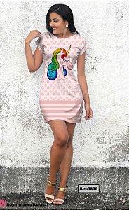 T-Shirt - Vestido, Adulto - Infantil - Feminino - Tal Mãe Tal Filha Cód. 5856