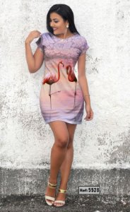 T-Shirt - Vestido, Adulto - Infantil - Feminino - Tal Mãe Tal Filha Cód. 5528