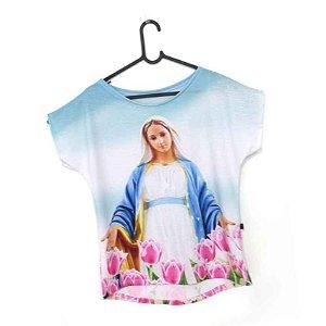 T-Shirt - Vestido, Adulto - Infantil - Feminino - Tal Mãe Tal Filha Cód. 5222