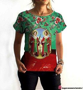 T-Shirt - Vestido, Adulto - Infantil - Feminino - Tal Mãe Tal Filha Cód. 6014