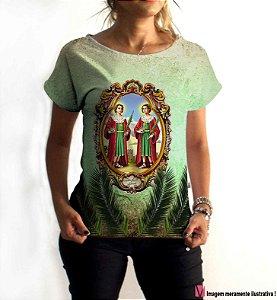 T-Shirt - Vestido, Adulto - Infantil - Feminino - Tal Mãe Tal Filha Cód. 6015