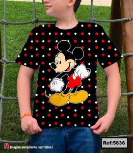 T-Shirt modelo Babylook Cód. 5836