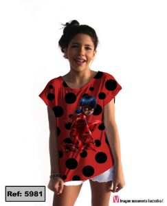 T-Shirt modelo Babylook Cód. 5981