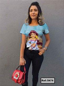 T-Shirt modelo Babylook Cód. 5478