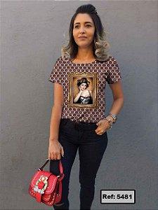 T-Shirt modelo Babylook Cód. 5481