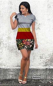 T-Shirt - Vestido, Adulto - Infantil - Feminino - Tal Mãe Tal Filha Cód. 5434