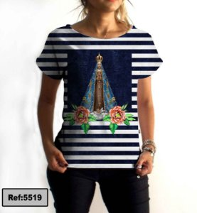 T-Shirt - Vestido, Adulto - Infantil - Feminino - Tal Mãe Tal Filha Cód. 5519
